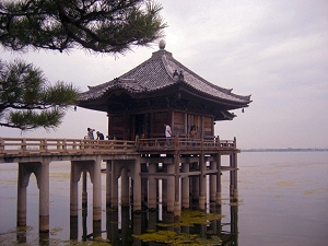 Ukimido (Mangetsuji) in Katata